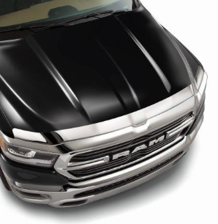 2019 ~ 2021 DT Ram 1500 - Air Deflector (Chrome) - 82215475