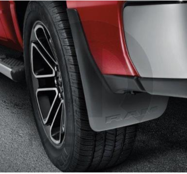 2019 ~ 2020  DT Ram 1500 - Rear Splash Guards without Fender Flares - 82215490AB