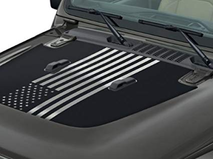 Jeep Gladiator - Hood American Flag Decal - 82215735