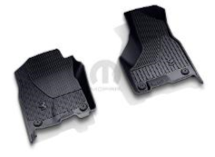 2019 ~ 2020 Ram HD 2500 3500 All-Weather Floor Mats (Black) - Regular Cab - 82215759AC