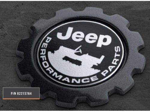 Jeep Gladiator - Performance Parts Badge - 82215764