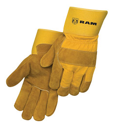 RAM Cowhide Work Gloves - 44223