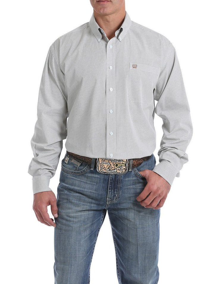 Cinch - Men's Long Sleeve Shirt - Light Blue