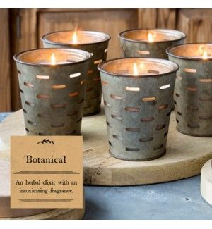 Park Hill Botanical Olive Bucket Candle