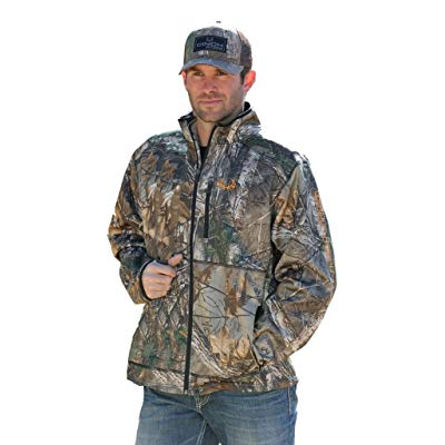 Cinch Men's Heavyweight Fleece Jacket - Camouflage