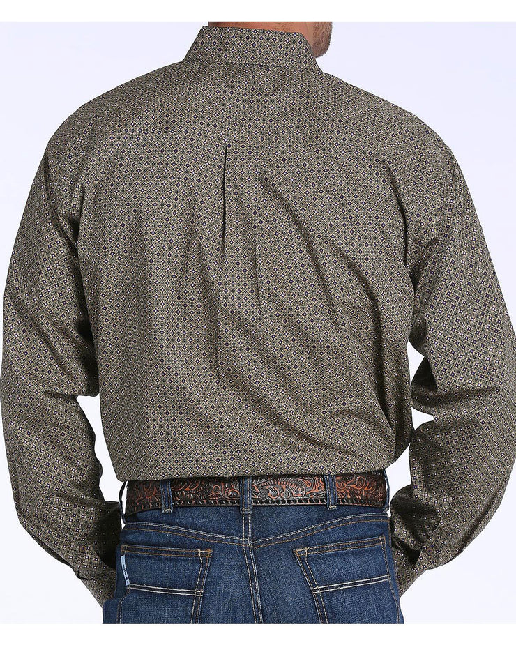 Cinch - Men's Long Sleeve Shirt - Tan