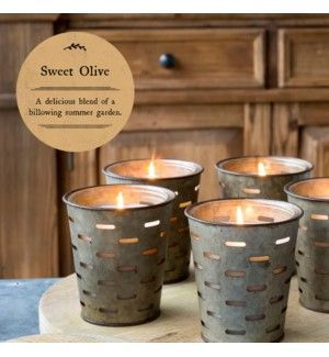 Park Hill Sweet Olive Bucket Candle