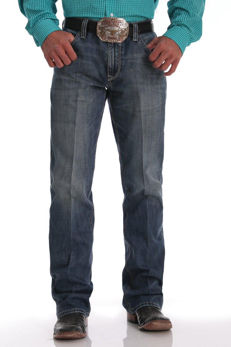 Cinch Men's Jeans - Carter Label 2.0 ArenaFlex - Medium Stonewash