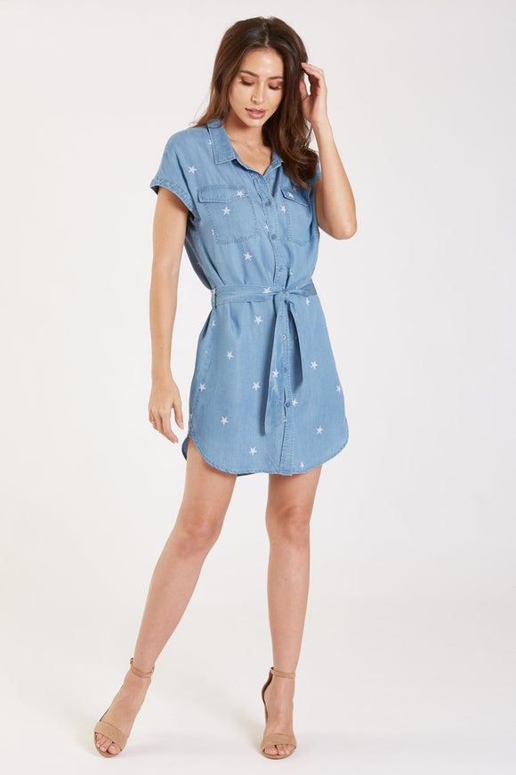 Dear John Dress / Shirt - Kelly Mini Star