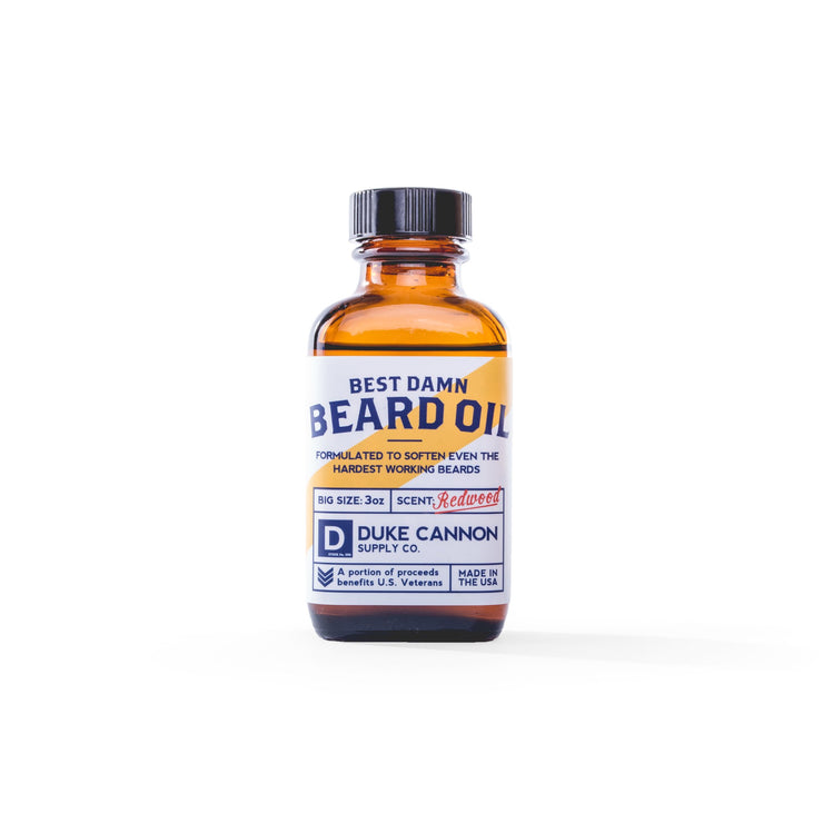Duke Cannon Beard Oil - Redwood