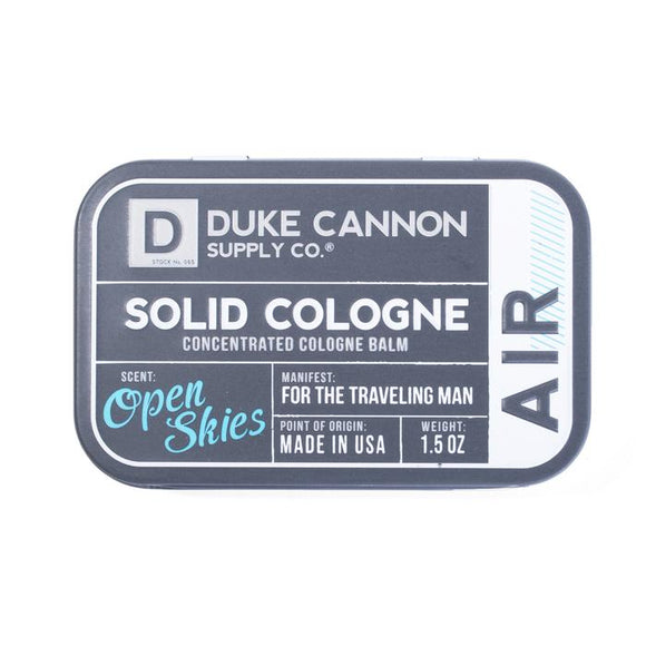 Duke Cannon Solid Cologne - Air Open Skies