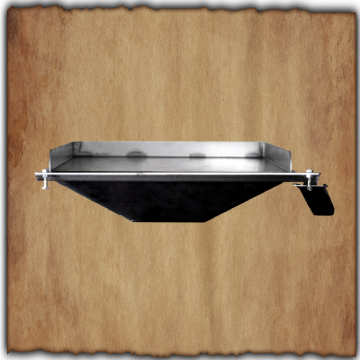 Smokin Brothers - BBQ Hack Griddle - Black