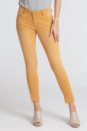 Dear John Jean - Joyrich Ankle Skinny - Honey Gold