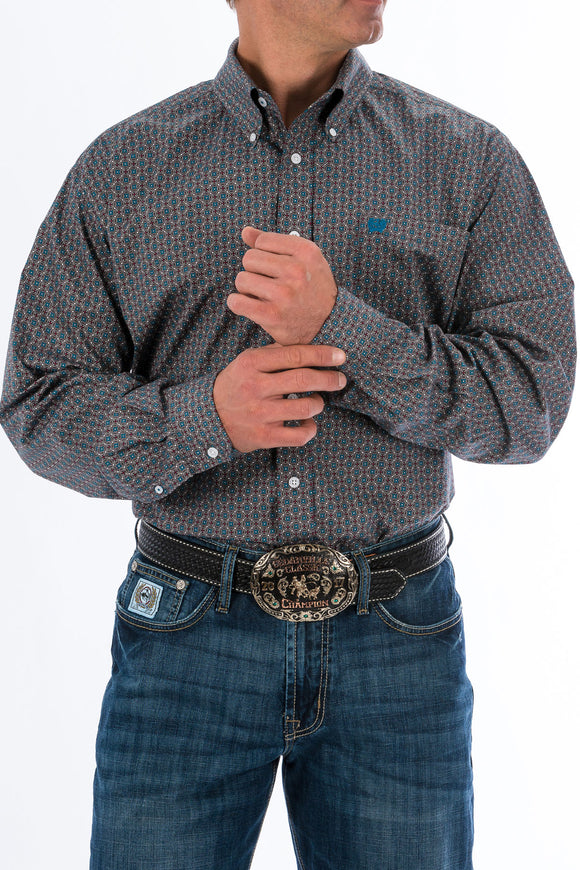 Cinch Men's Long Sleeve Shirt MTW1104707