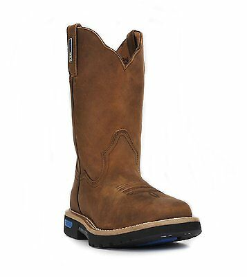 Cinch WRX Men's Master Brown Leather Work Boot