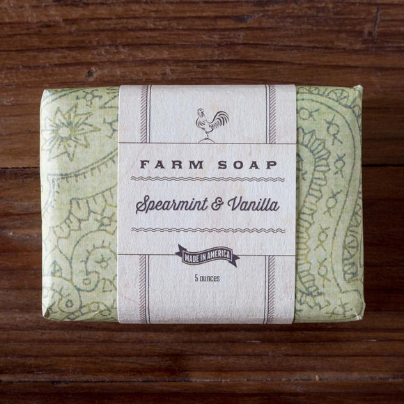 Park Hill - Farm Soap - Spearmint & Vanilla