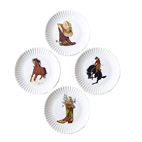 One Hundred 80 Degrees - Melamine Appetizer Plate - Western