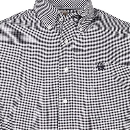 Cinch - Men's Long Sleeve Shirt - Navy/White