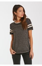 Another Love Shirt - Analisa Short Sleeve - Black / Cream