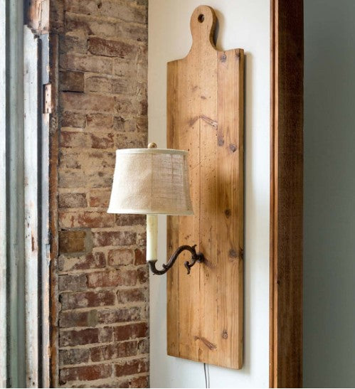Cutting Board Wall Sconce