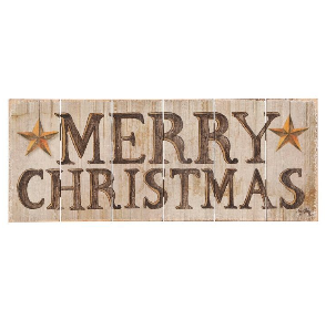 Merry Christmas Wood Wall Art