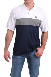 Cinch Men's Short Sleeve ArenaFlex Polo - Multi