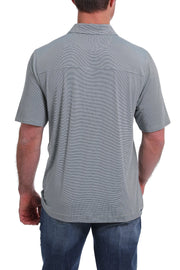 Cinch Men's Short Sleeve ArenaFlex Polo - Gray