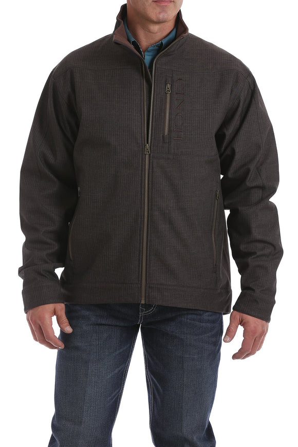 Cinch Men's Concealed Carry Pocket Jacket - Chocolate