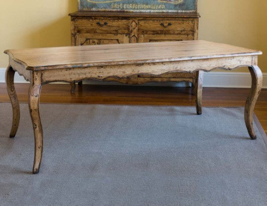 French Colonial Dining Table