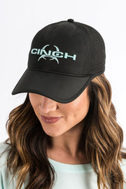 Cap -  Cinch Women's Athletic - Black - OSFA