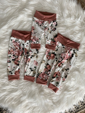 Annie Floral Joggers