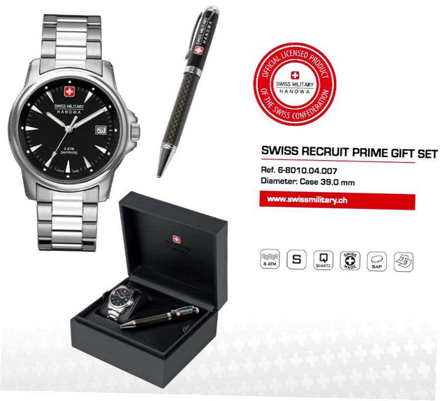 Swiss Military Hanowa Swiss Recruit Prime Giftset 06-5230.04.007
