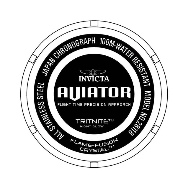 Invicta aviator 28118