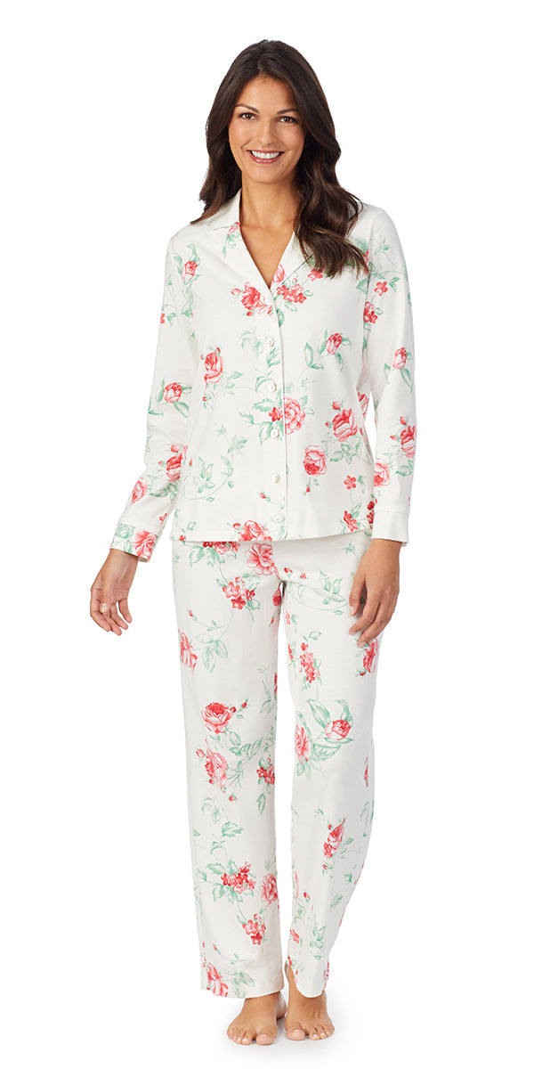 Red Rose Soft Jersey Long Sleeve & Long Pant Pj