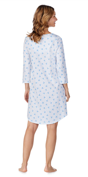 Blue Birds Soft Jersey Sleepshirt