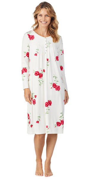 Roses Luxe Cozy Fleece Waltz Gown