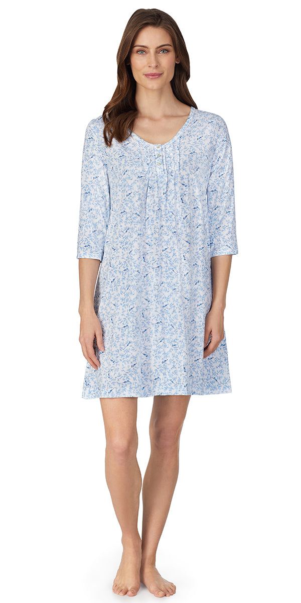 Bluebird Soft Jersey Knits Nightshirt