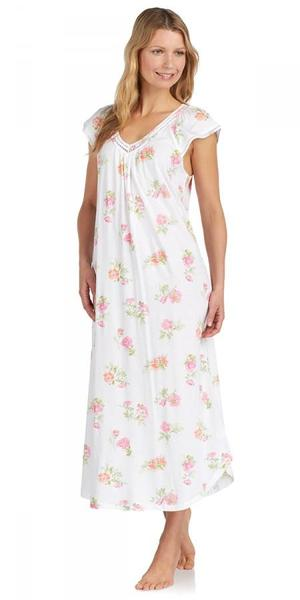 Heritage Long Nightgown - Botanical Roses