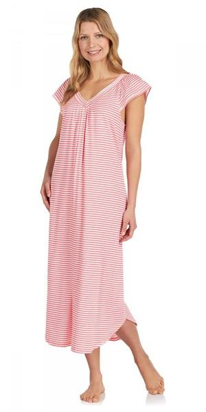 Heritage Long Nightgown - Fresh Stripe