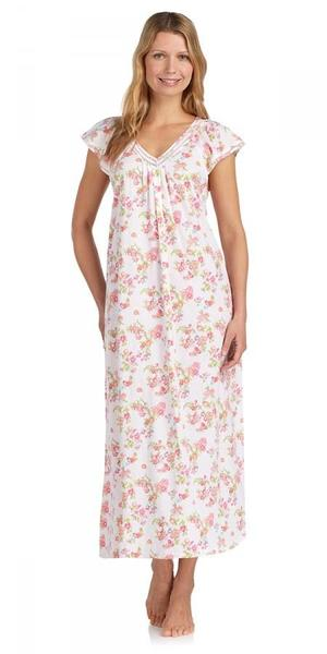 Heritage Long Nightgown - Island of Bouquets