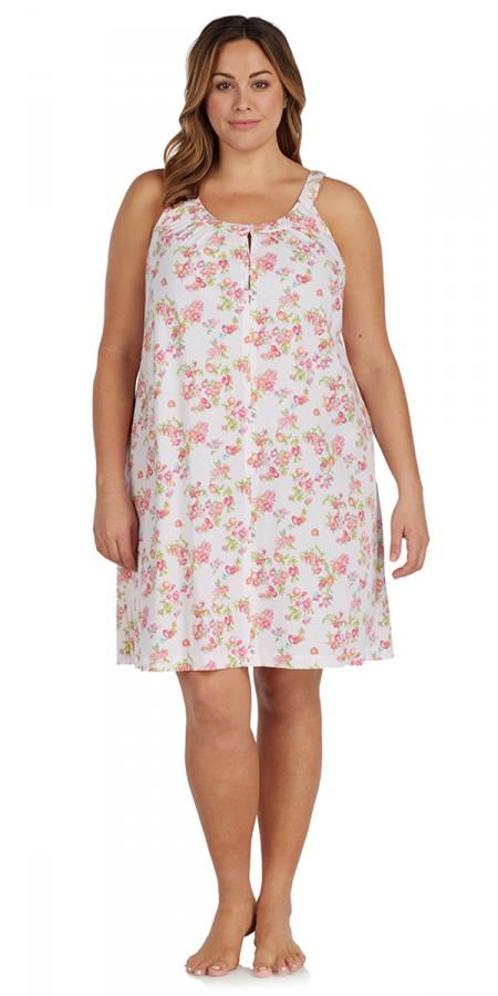 Heritage Chemise - Island Of Bouquets - Plus size