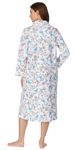 Hummingbird Floral Quilted Robes Ballet  Robe