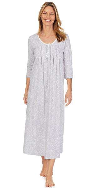Dreamy Grey Long Nightgown