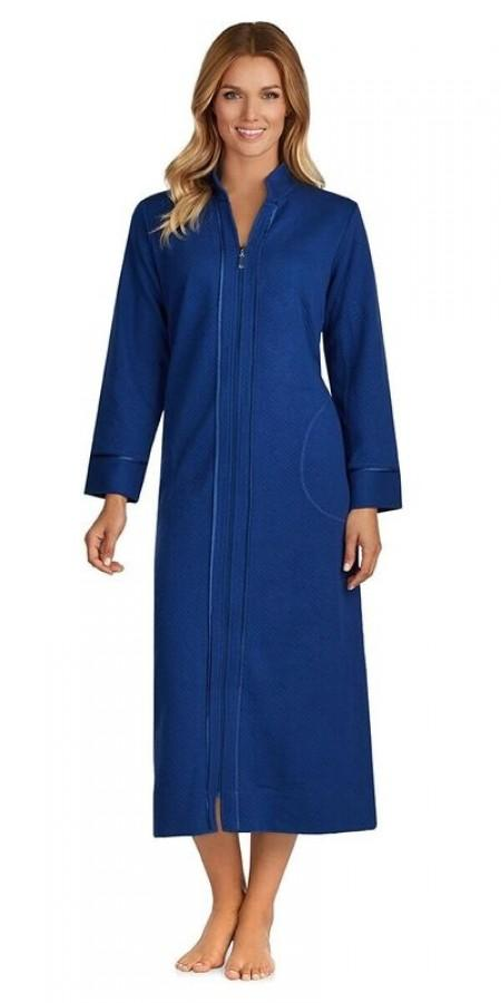 Heritage Zip Robe - Navy