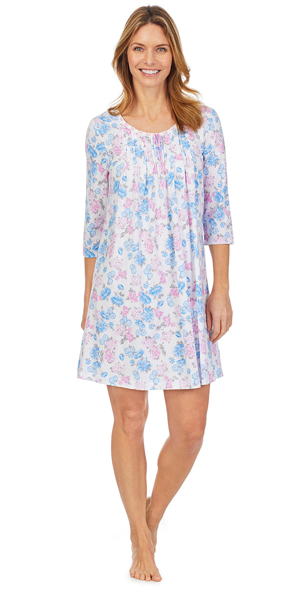 Floral Dream Short Nightgown