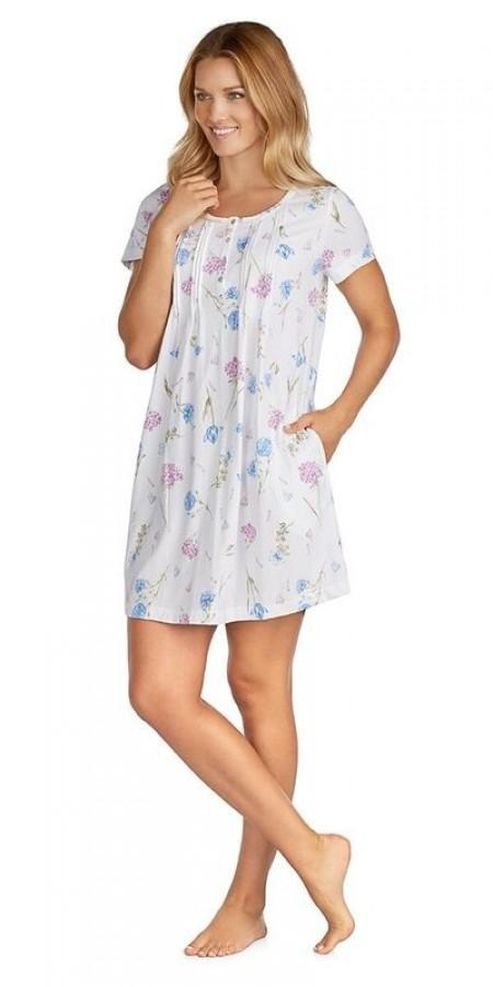 Heritage Chemise - White Floral – Plus size
