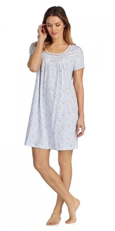 Soft Jersey Sleepshirt - Darling Ditsy