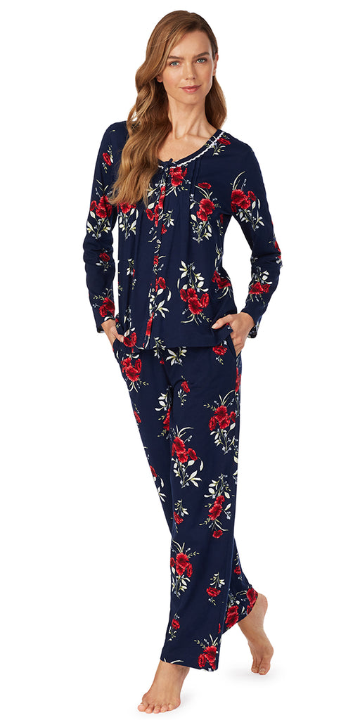 Midnight Floral Pajama Set