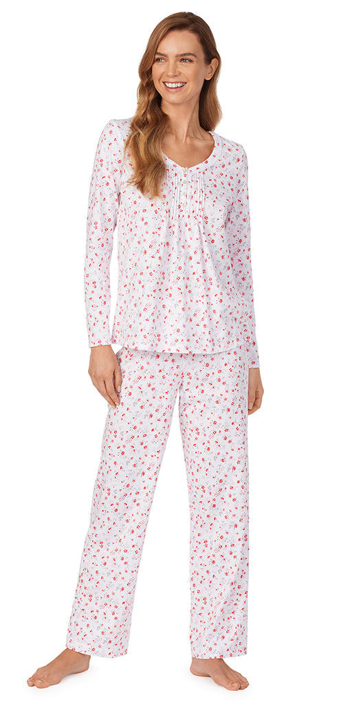 Sweet Floral Pajama Set