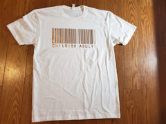 Childish adult barcode womens